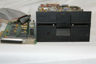 Ibm 5160 Vintage Floppy Drive With Interface Card