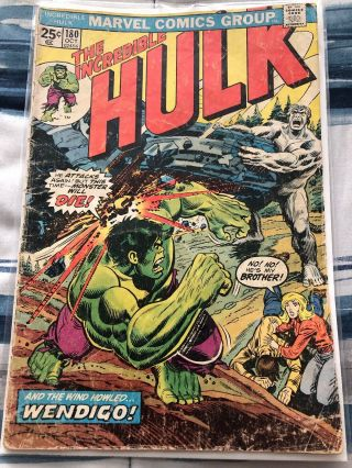 Incredible Hulk 180 Wolverine Marvel Value Stamp Intact