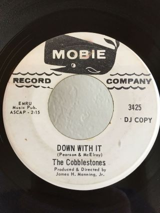 Garage Promo 45 The Cobblestones Down With It On Mobie Hear