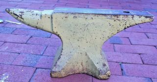 American Wrought 74 Blacksmith Anvil Circa 1899 - 1910,  Good.