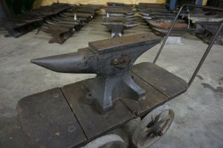 "Cond.  100 Lb.  Fisher "" Eagle "" Blacksmith Anvil Old Stock"