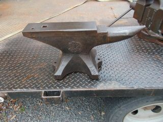 Anvil Fisher 150 Lb,  Blacksmith,  Forging Tool,  Fisher Anvil,  Trenton Jersey