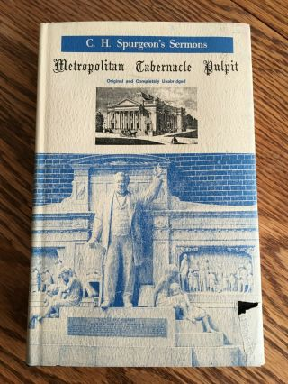 C.  H.  Spurgeon Metropolitan Tabernacle Pulpit - Volume 61 - 1915 Rare Sermons
