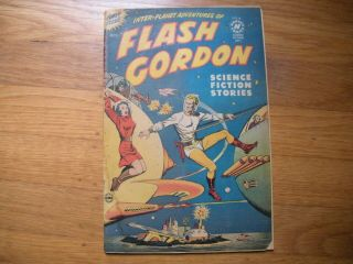 Flash Gordon 1 Harvey Comics 10/50 R - Alex Raymond Strips From 1940 5.  0 Ow Pgs
