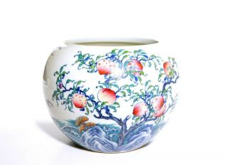 "A Very Fine Chinese "" Doucai "" Porcelain Pot"