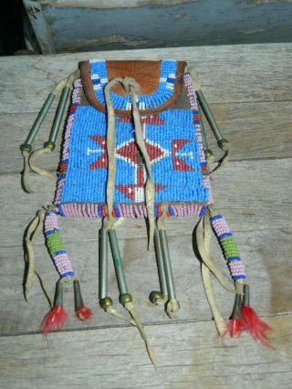 Native American Sioux Strike A Lite Bag Pouch