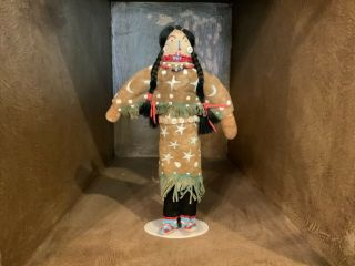 Lakota Sioux Ghost Dance Double Doll (circa1890 - 1910) Plains Indian Hide Doll