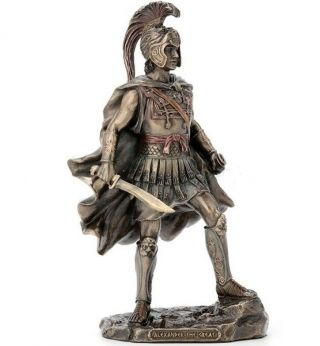 9.  75 Inch Alexander The Great Statue Sculpture Macedonian Greek King Warrior