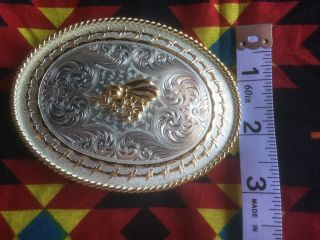 Montana Silversmiths Us Navy Seabee Belt Buckle