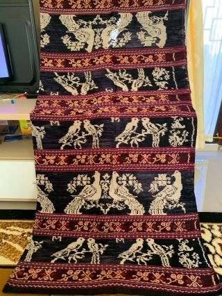 East Nusa Tenggara Traditional Ikat From Maumere Flores