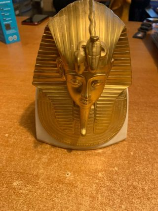Lenox Limited Edition King Tut Figurine Display Gold With Bone China
