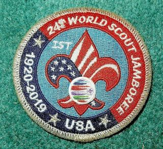 Boy Scouts Of America 2019 21st World Jamboree Usa Contingent Pocket Patch.