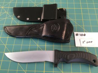 Mad Dog Arizona Hunter Knife,  Mad Dog Kydex Sheath,  Kenny Rowe Custom Sheath